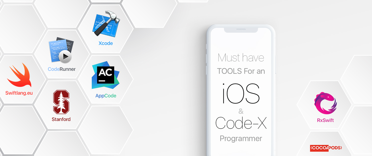 What are the must-have tools for an iOS and Code X programmer?