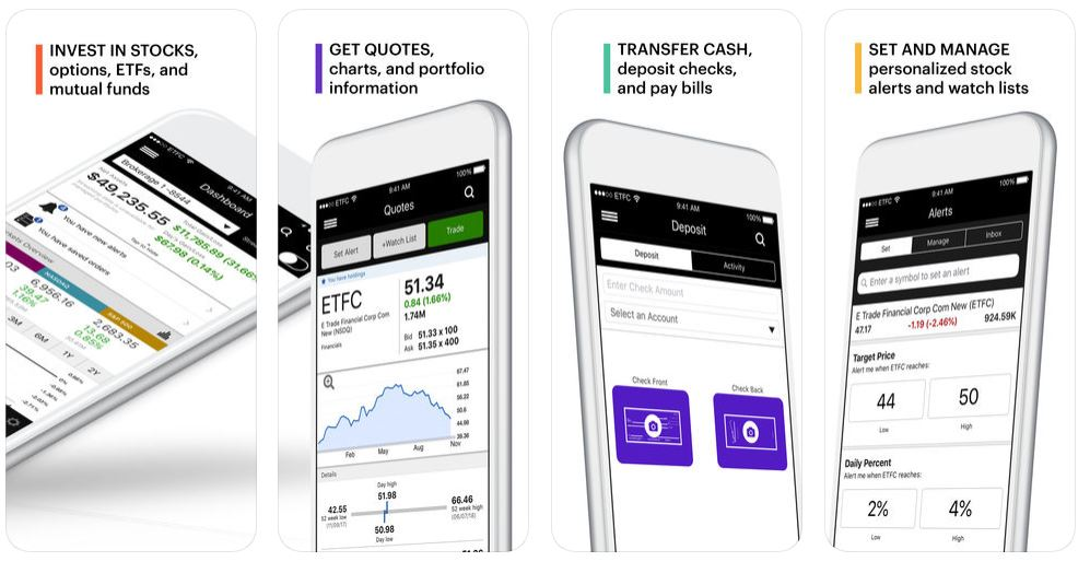 E-Trade Mobile App
