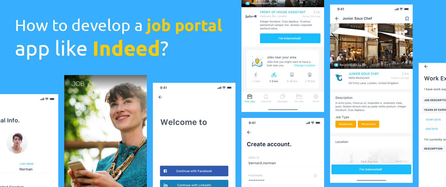 How to develop a job portal app like Indeed?