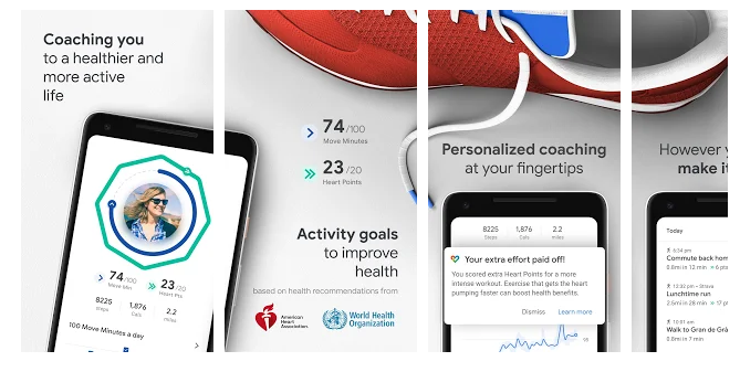 Google Fit- Fitness Tracking