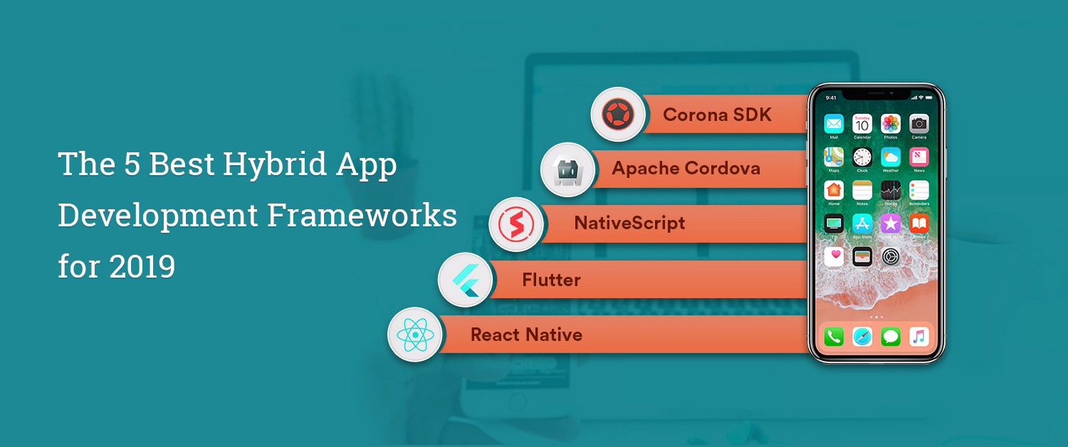 The 5 Best Hybrid App Development Frameworks for 2019
