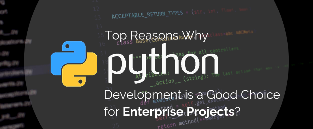 Top Reasons Why Python Development is a Good Choice for Enterprise Projects