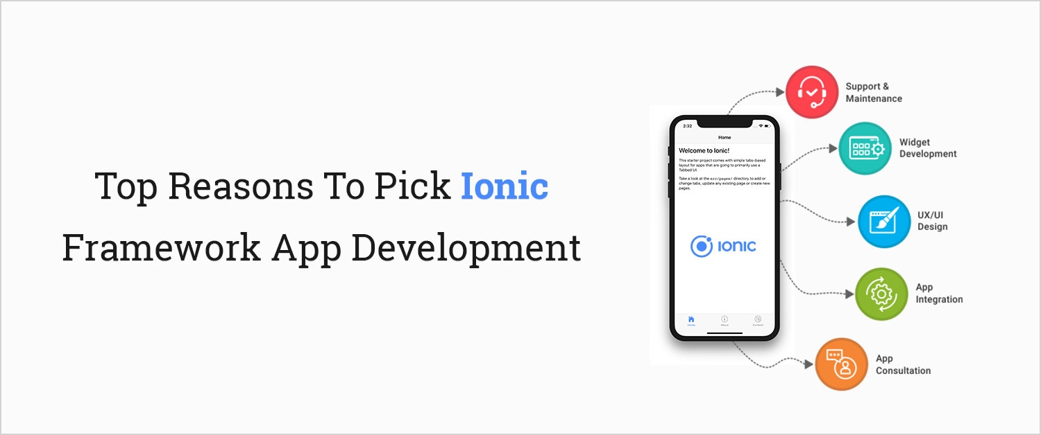 Top Reasons To Pick Ionic Framework App Development