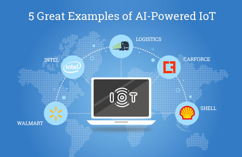 5 Great Examples of AI-Powered IoT