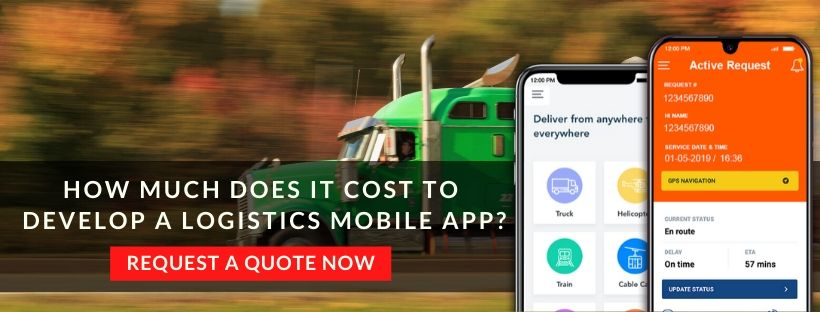 How To Build A Logistics App? | Logistics App Development ...