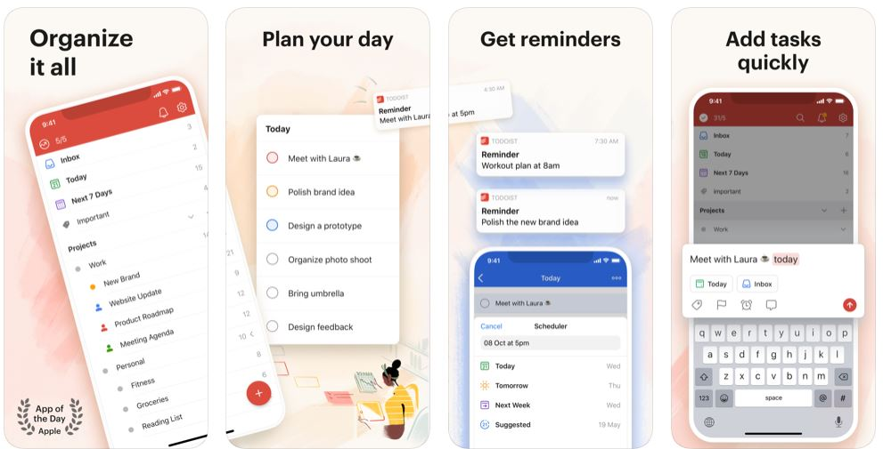 ToDoist Productive App