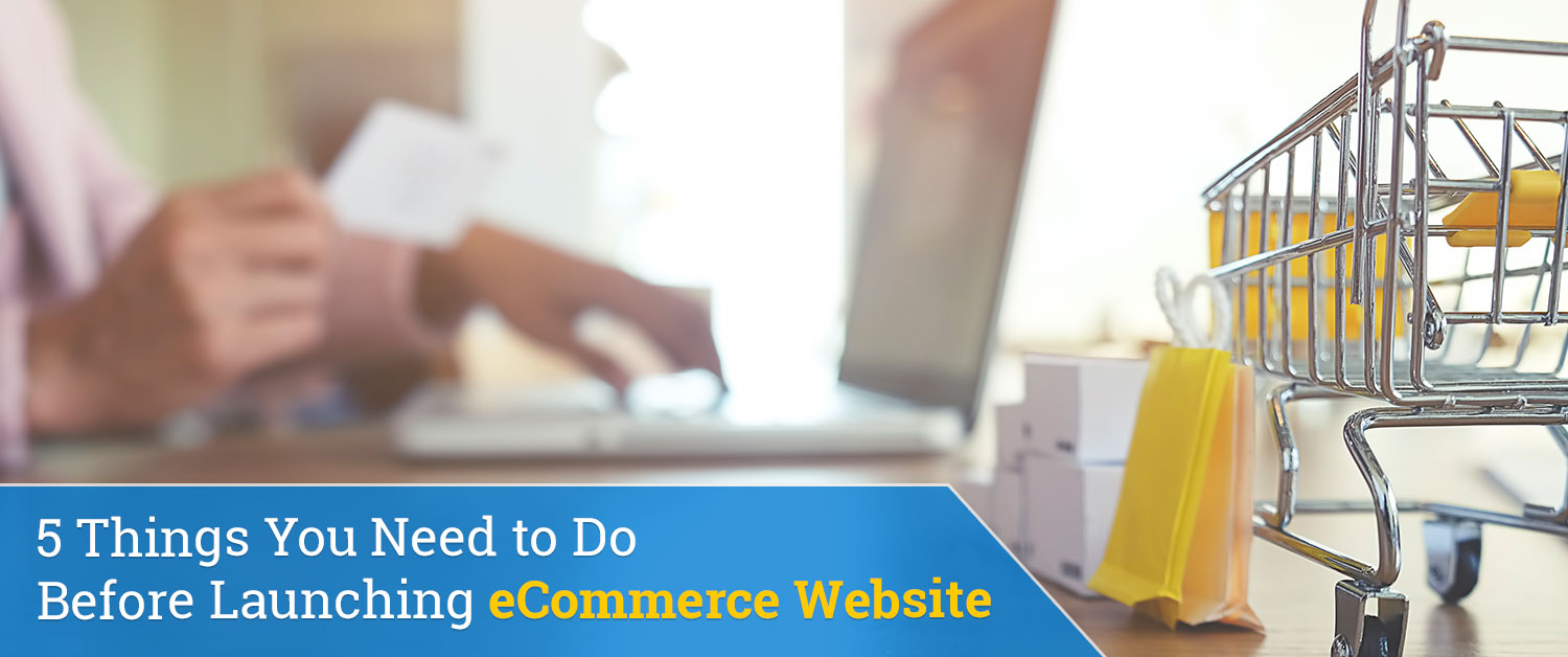 5 Things You Need to Do Before Launching eCommerce Website
