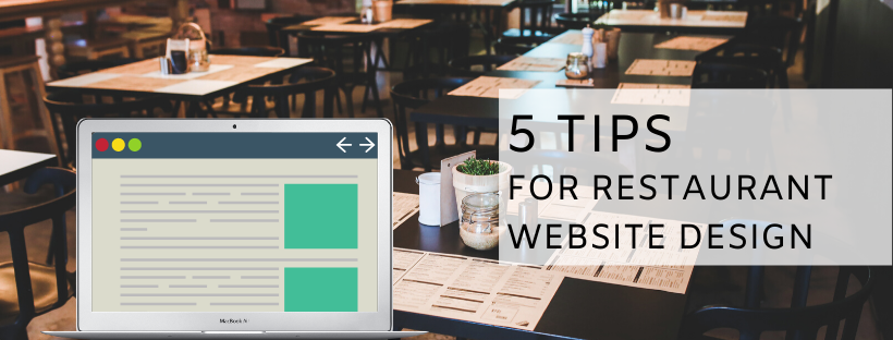 5 Tips For Restaurant Website Design