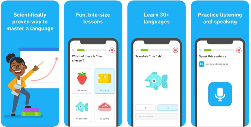 Foreign Language Learning App