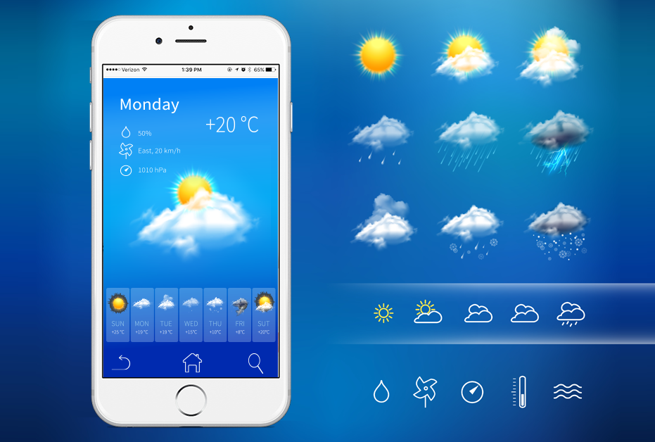 Weather Forecast Mobile App