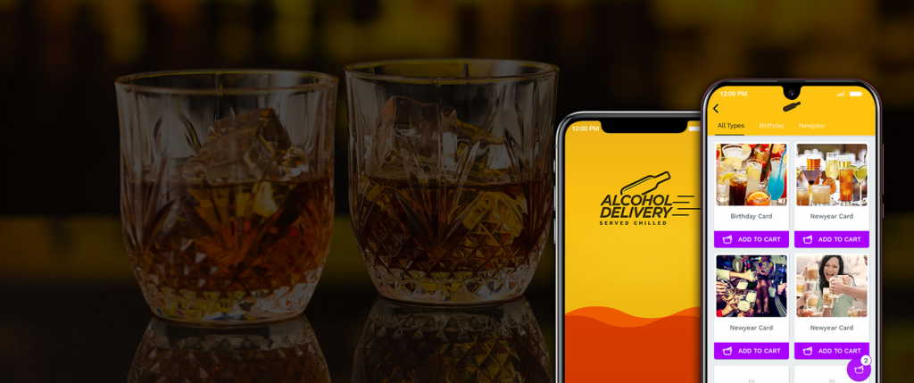 What does an Alcohol Delivery App Offer You?