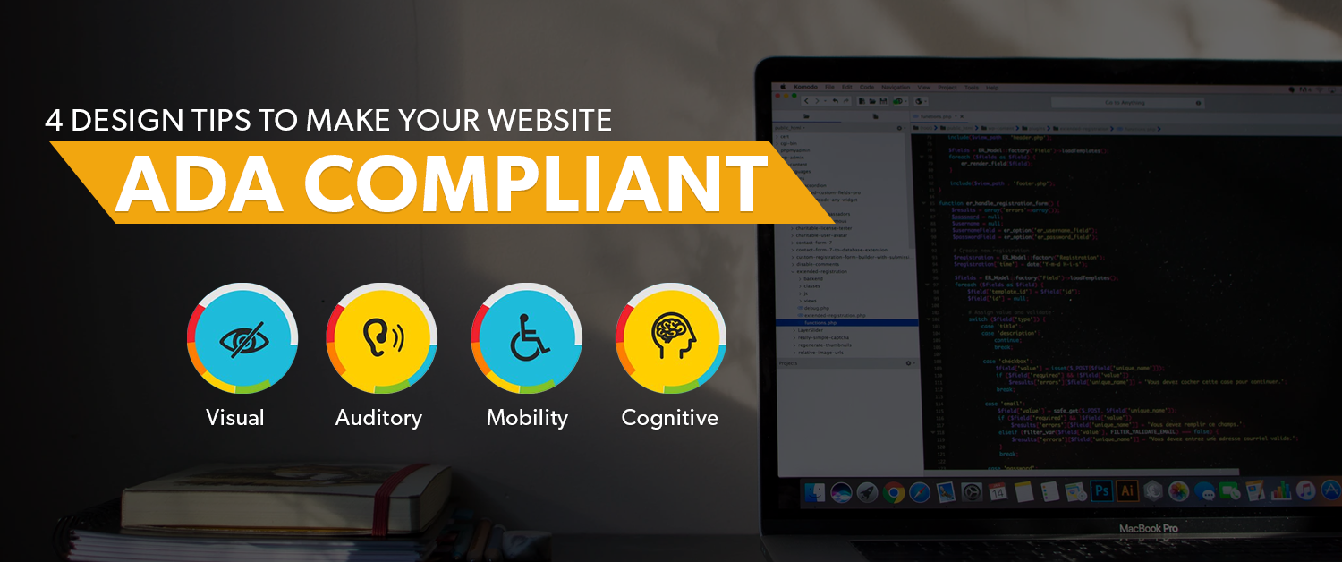 4 Design Tips to Make Your Website ADA Compliant