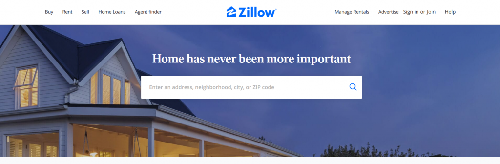 Zillow Homluv - Nobbas Top Real Estate Apps Using AI