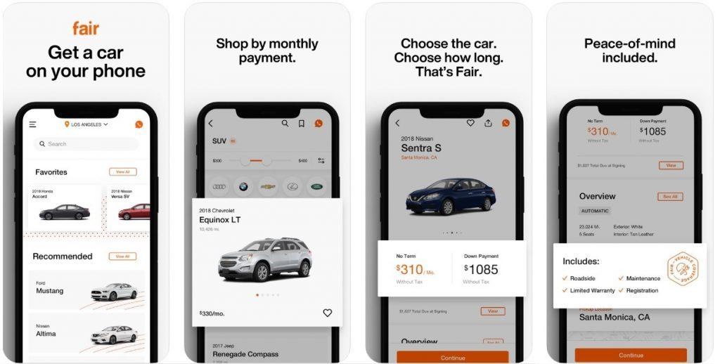 Fair - Car Rental App