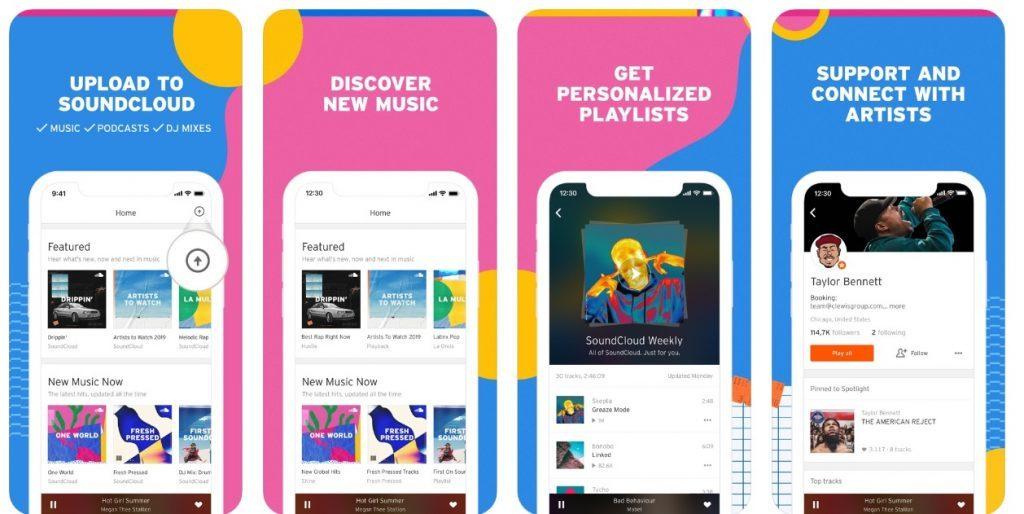 SoundCloud-Music-App