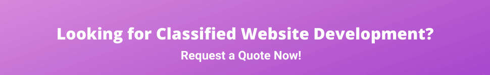 Classified Website Development