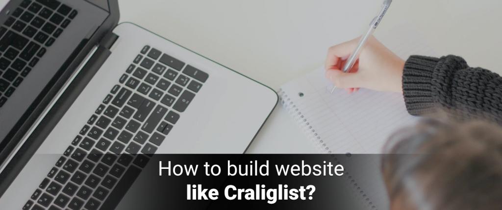 How to build a website like Craigslist?