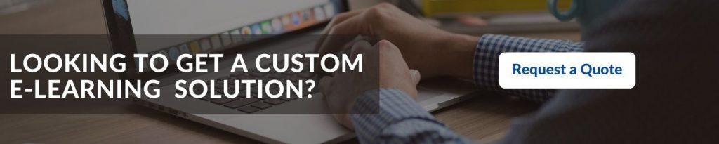 Develop a custom E learning app