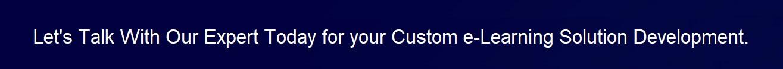 custom e-learning solution
