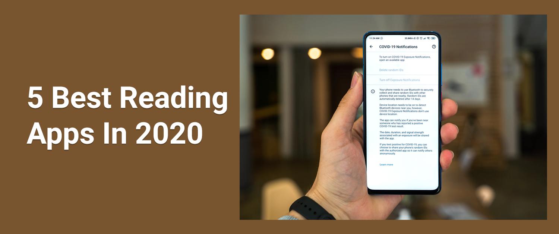 5 Best Reading Apps In 2020