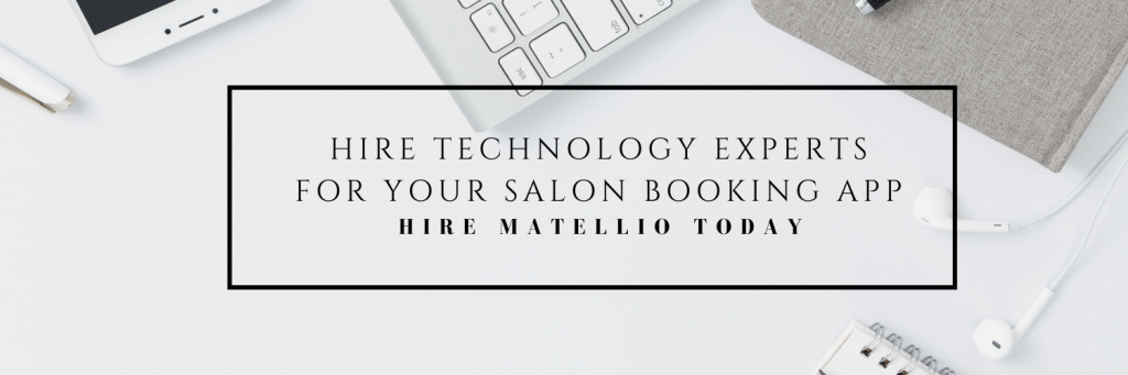 Request a quote salon booking app