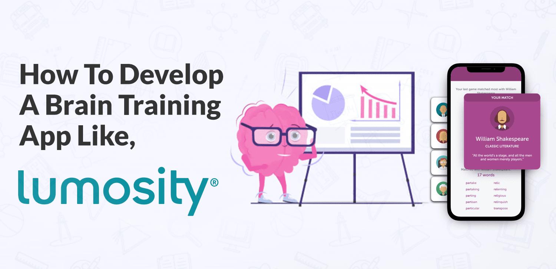How to develop a brain training app like Lumosity