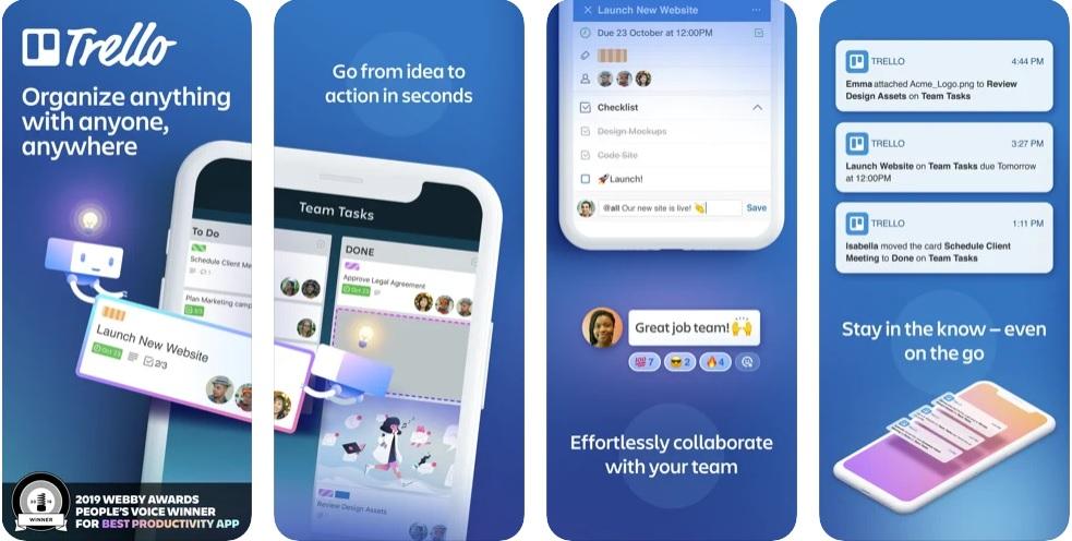 Trello-Productivity app