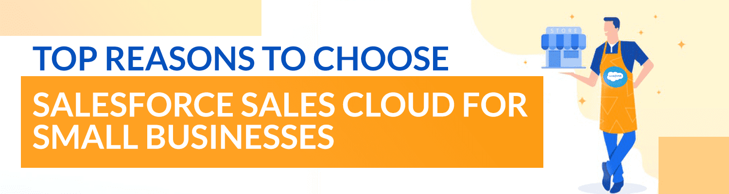 Reasons to choose Salesforce-Sales Cloud for Small Businesses