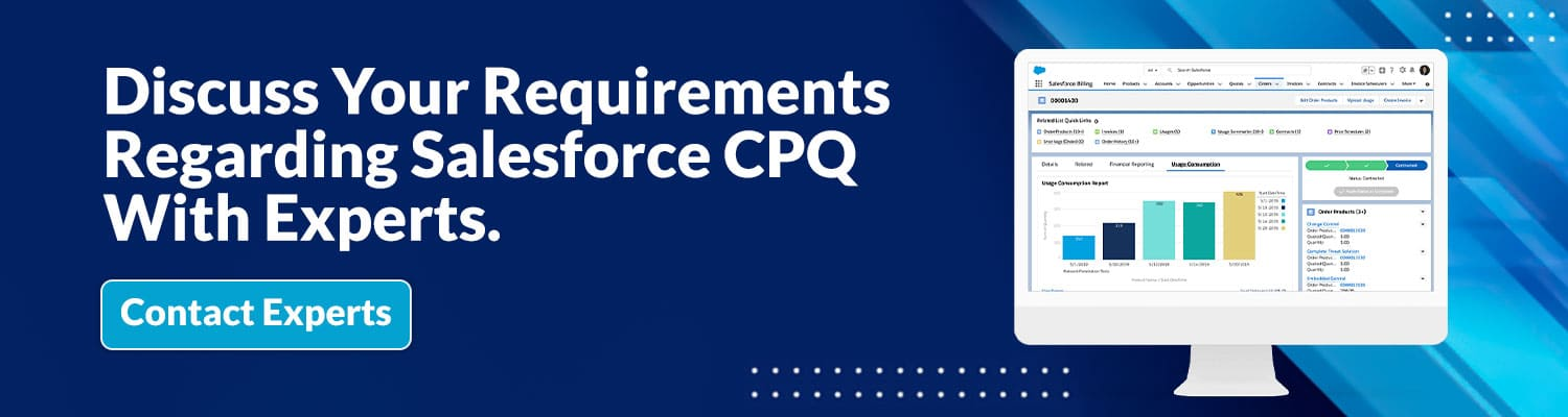 Salesforce CPQ consultant firm