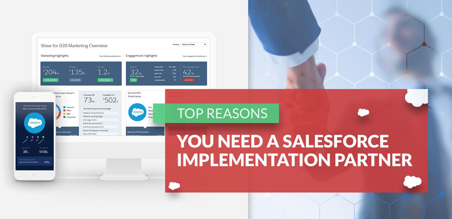 Top 5 Reasons you need a Salesforce Implementation Partner