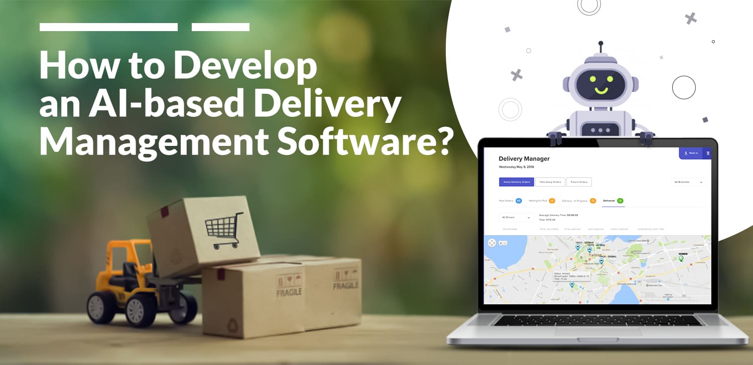 ai based delivery management software