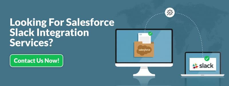 Salesforce slack integration services