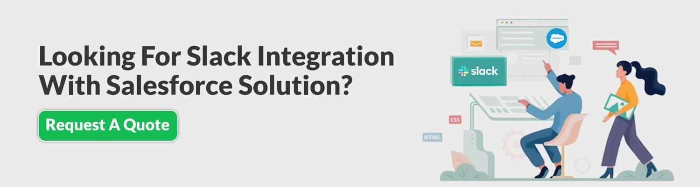 slack integration with salesforce solution