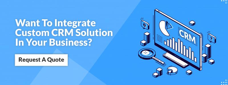 Iintegrate Custom CRM Solution