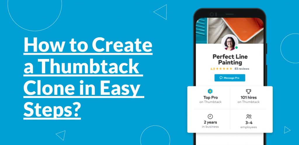How to Create a Thumbtack Clone in Easy Steps