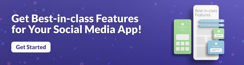Social media app development services