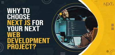 Next JS for Web App Development