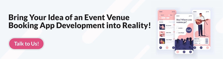 event venue booking app