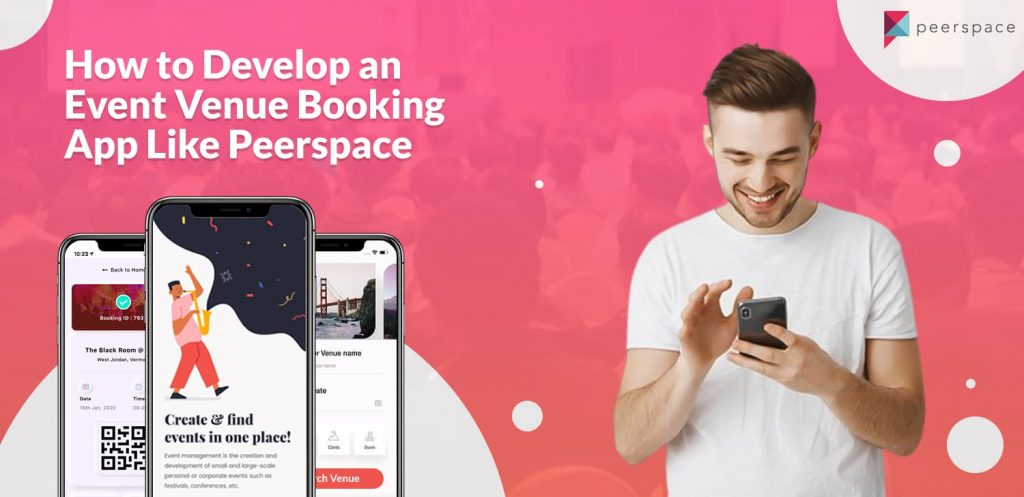 event venue booking app development