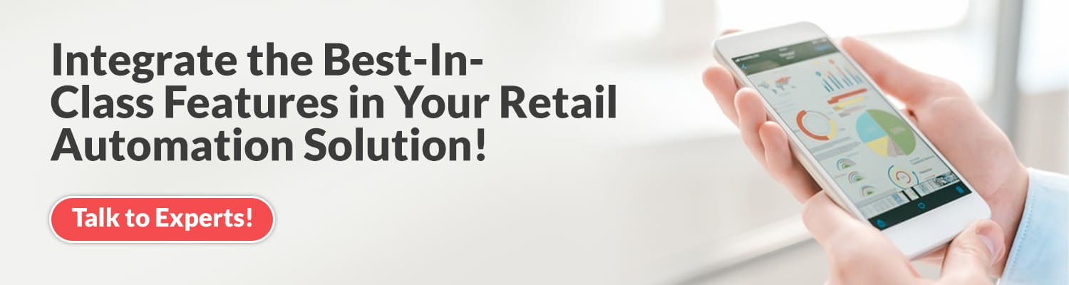 Retail Automation Solution Features
