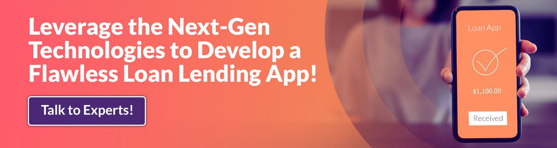 Loan Lending mobile app development company